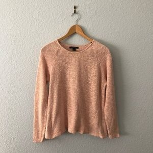 Forever 21 Blush Pink 100% Cotton Textured Sweater